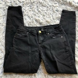 [a24-5] Forever 21 | low rise black skinny jeans